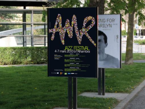 AMR affiche du festival